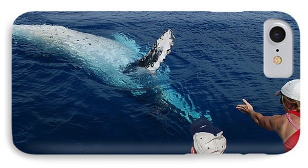 Humpback Whale Reaching Out IPhone Case