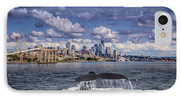 Humpback Whale-seattle IPhone Case
