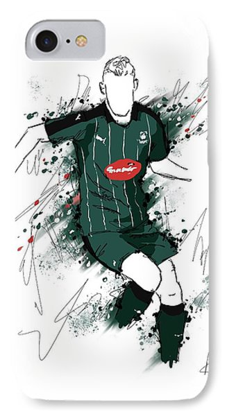 I Am Green And Black IPhone Case