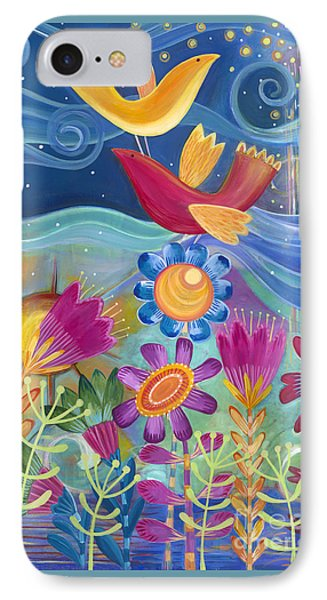 IPhone Case featuring the painting I Believe I Can Fly by Carla Bank