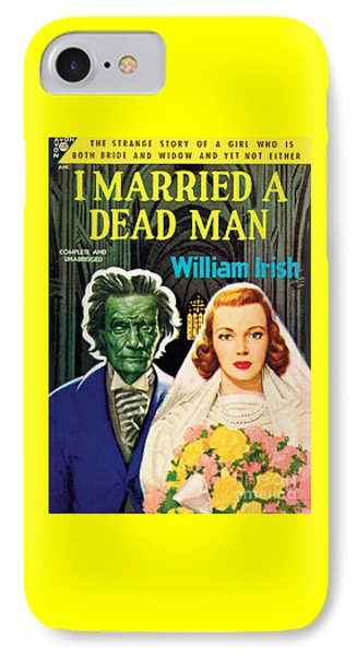 I Married A Dead Man IPhone Case