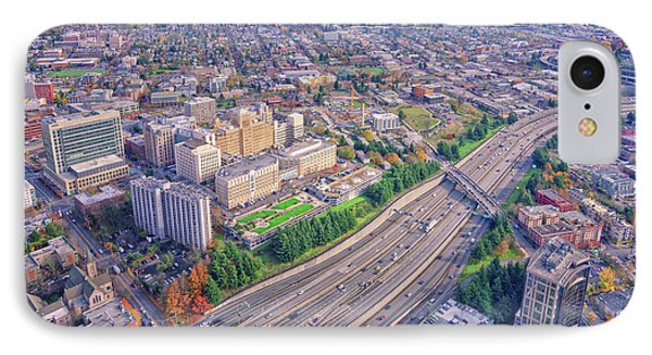 I5 Seattle Aerial View IPhone Case