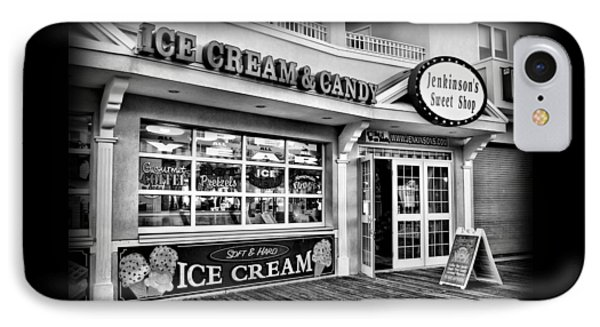Ice Cream And Candy Shop At The Boardwalk - Jersey Shore IPhone Case