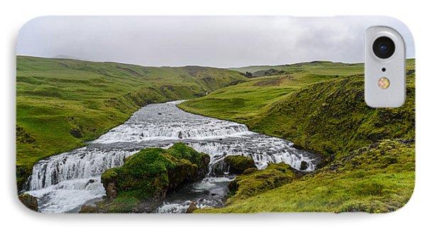 Icelandic Cascade IPhone Case
