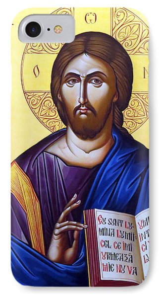 Icon Of Christ In Jericho IPhone Case