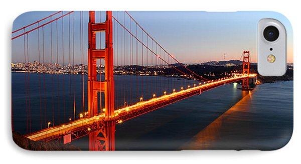Iconic Golden Gate Bridge In San Francisco IPhone Case