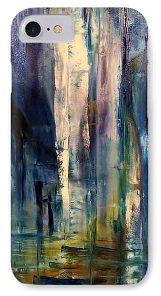 Icy Cavern Abstract IPhone Case