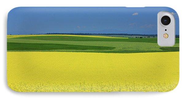Mustard iPhone 8 Case - Idaho Field by Johnny Adolphson