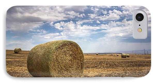Idaho Hay Bale IPhone Case