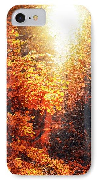 Illuminated Forest IPhone Case