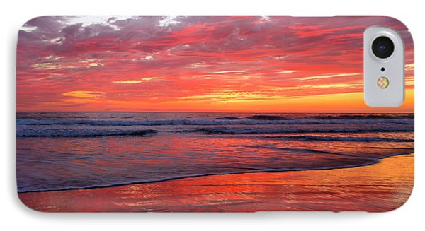 IPhone Case featuring the photograph North County Waves by John F Tsumas