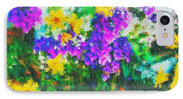 Impressionist Floral IPhone Case