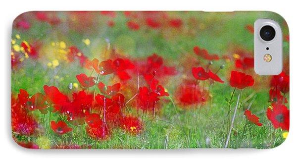 Impressionistic Blossom Near Shderot IPhone Case