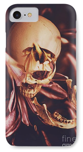 Orchid iPhone 8 Case - In Contrasts Of Soul Growth by Jorgo Photography - Wall Art Gallery