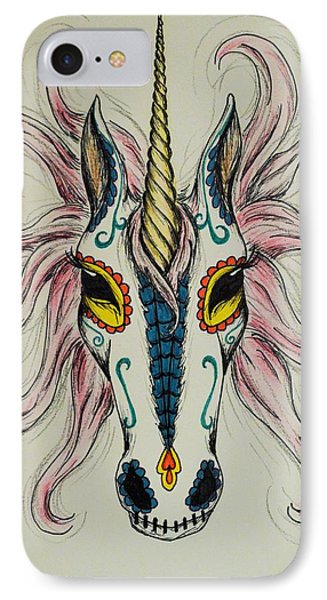In Memory Of The Long Lost Unicorn IPhone Case