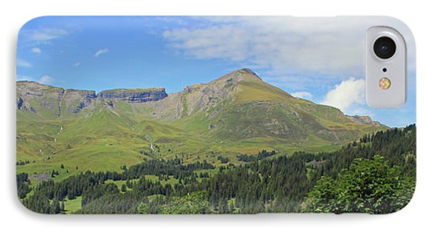 In The Swiss Alps Jungfrau Region IPhone Case
