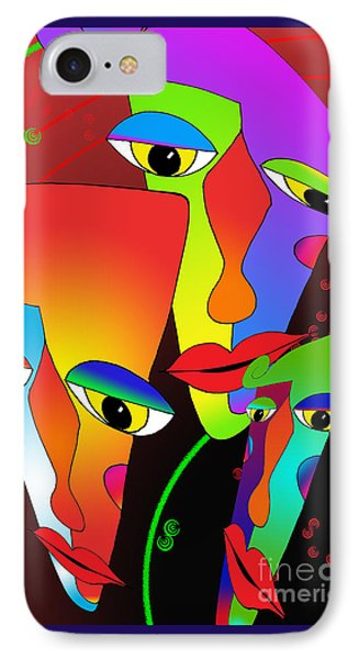 In The Zone IPhone Case