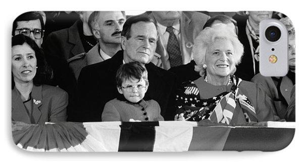 Inauguration Of George Bush Sr IPhone Case