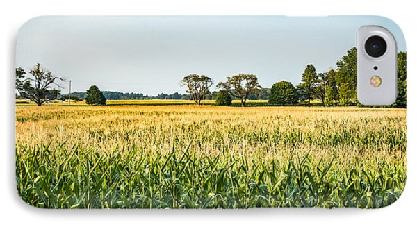 Indiana Corn Field IPhone Case