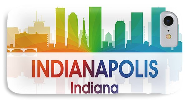 Indianapolis In 1 Squared IPhone Case