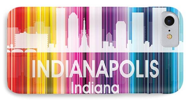 Indianapolis In 2 Squared IPhone Case