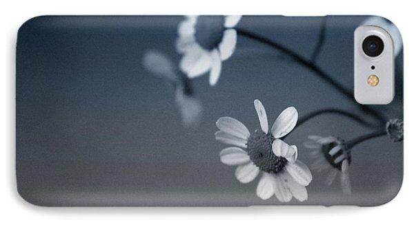 Daisy iPhone 8 Case - Indigo Daisies 2- Art By Linda Woods by Linda Woods