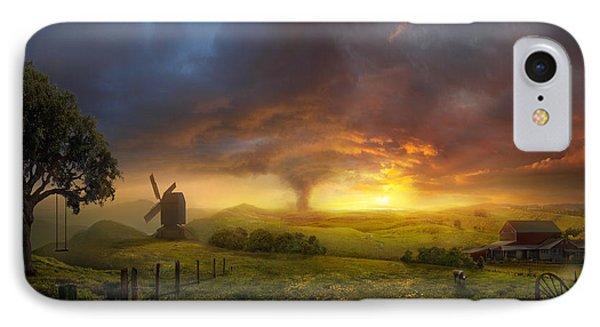 Landscape iPhone 8 Case - Infinite Oz by Philip Straub