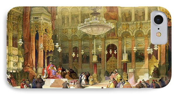 Inside The Church Of The Holy Sepulchre IPhone Case