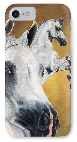 Horse iPhone 8 Case - Inspiration by Kristen Wesch