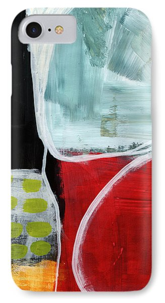 Intersection 37- Abstract Art IPhone Case