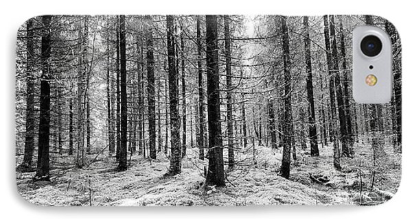 Into The Monochrome Woods IPhone Case