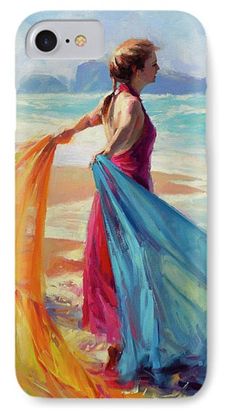Sand iPhone 8 Case - Into The Surf by Steve Henderson