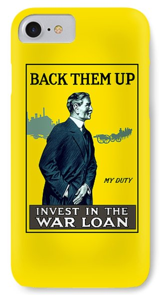 Invest In The War Loan - Ww1 IPhone Case