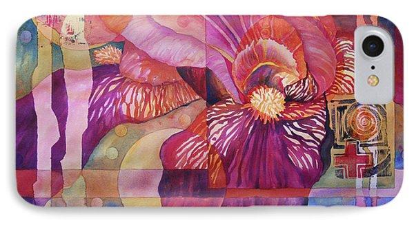 Iris Delight IPhone Case