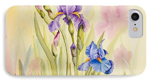 Iris Garden Ll IPhone Case