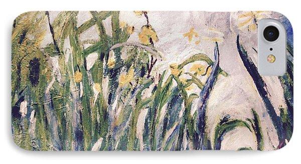 Irises Revisited IPhone Case