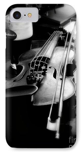 Irish Fiddle On A Break IPhone Case