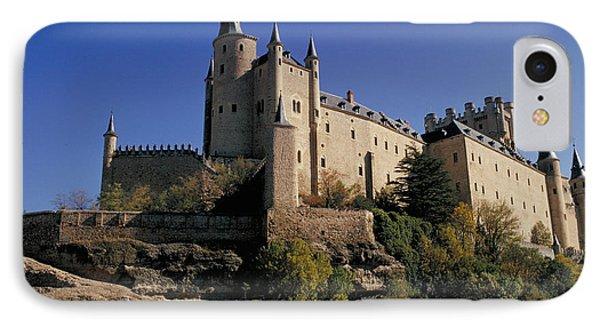 Isabella's Castle In Segovia IPhone Case