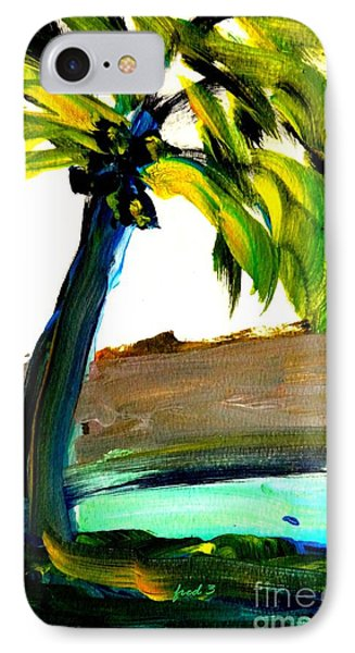 Island Time Signed Print IPhone Case