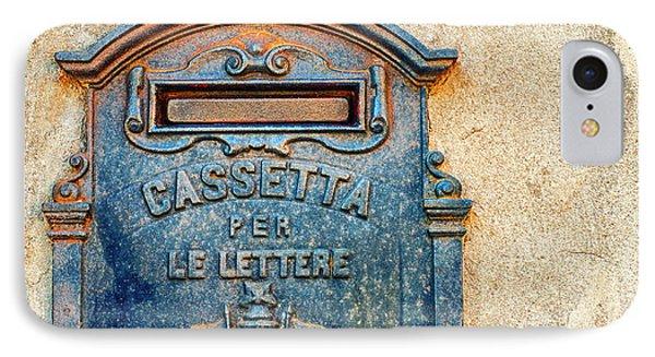 Italian Mailbox IPhone Case