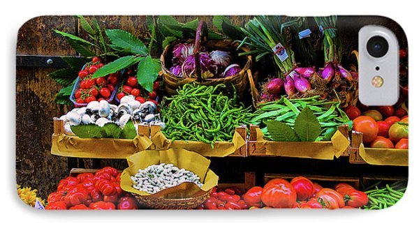 Italian Vegetables  IPhone Case