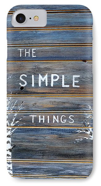 It's The Simple Things IPhone Case