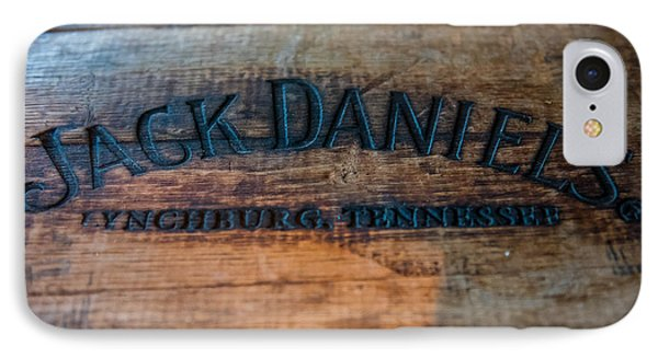 Jack Daniels Oak Barrel IPhone Case