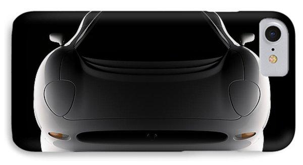 Jaguar Xj220 - Front View IPhone Case
