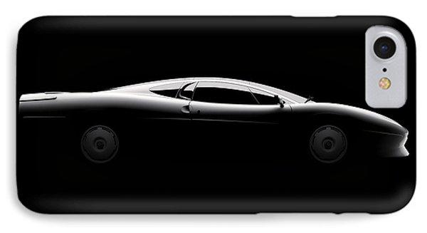 Jaguar Xj220 - Side View IPhone Case