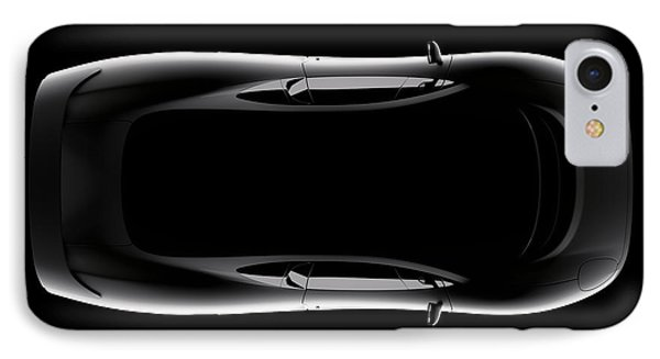 Jaguar Xj220 - Top View IPhone Case