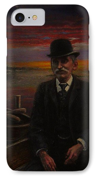 James E. Bayles Sunset Years IPhone Case