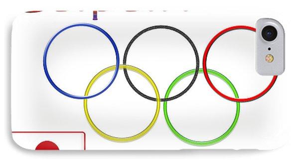 Japan Olympics 2020 Logo 3 Of 3 IPhone Case
