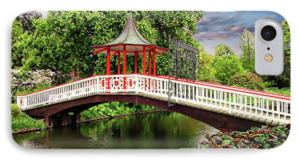 Japanese Bridge Garden IPhone Case