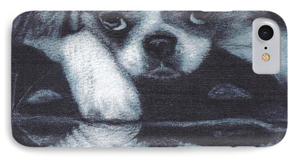 Japanese Chin Deep Thoughs IPhone Case
